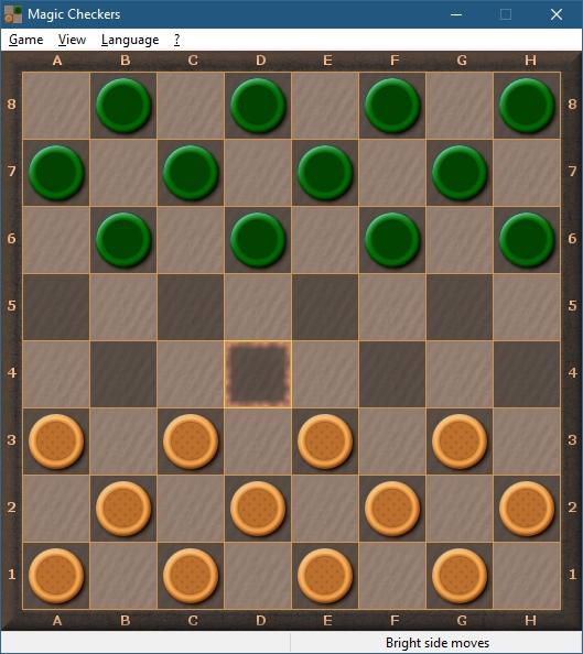 Magic Checkers